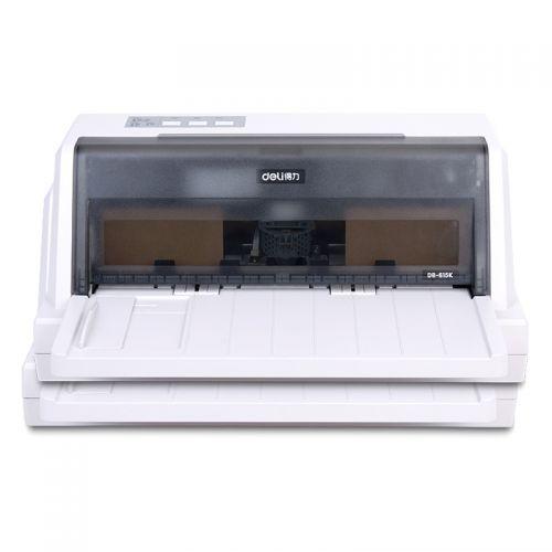 得力(deli)针式打印机 DL-610K(白灰)