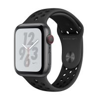 Apple WatchS4 Nike+44mm GPS+蜂窝版 MTXM2CH/A(深空灰+煤黑配黑)【每个ID限购一台】