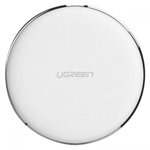 绿联(UGREEN)无线快充7.5W充电器 苹果安卓手机通用 60189(白色)