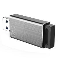 忆捷(EAGET)USB3.0推拉式高速U盘 F90(锖色)