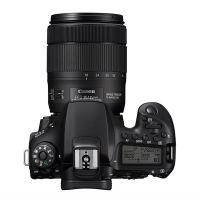 佳能(Canon)EOS 90D 单反相机 单反套机(EF-S 18-135mm f/3.5-5.6 IS USM 单反镜头)黑色
