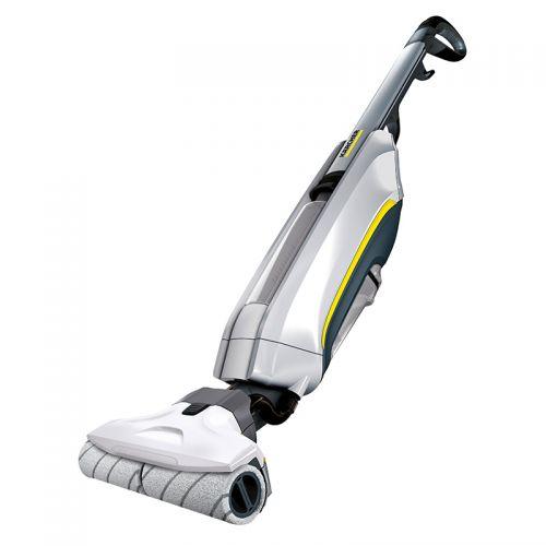 卡赫(KARCHER)电动拖把 拖地机 吸尘器伴侣 家用洗擦地机 地板打蜡清洁机 FC5(白色)