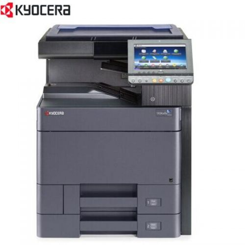 京瓷(KYOCERA)A3彩色多功能数码复合机 TASKalfa 5052ci(配置双面送稿器、4纸盒、边订角订装订器、三年质保、TK-8518CMYK原装墨粉各一支)