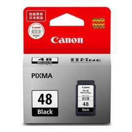 产地日本 进口佳能(Canon) PG-48 黑色墨盒 (适用佳能E408)