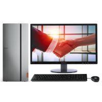 联想(Lenovo)ideacentre 720-18ICB 家用台式机 配23英寸显示器(i3-8100 4G 1TB GT730 2G)灰黑色