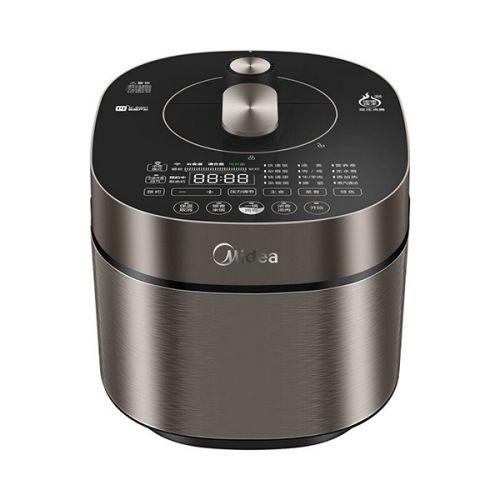 美的(Midea)变压沸腾  IH加热 微电脑式  5L电压力锅 MY-HT5072P(玄武灰)