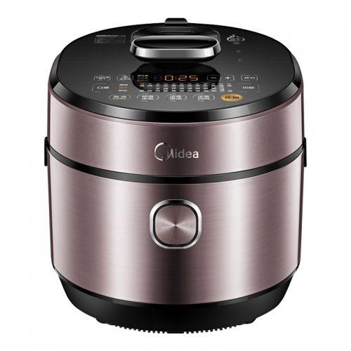 美的(Midea)6升智能家用电压力锅/高压锅HT6077P(紫色)【晒单送好礼】