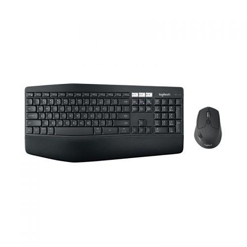 罗技(Logitech)无线键鼠套装 办公鼠标键盘 MK850 (黑色)