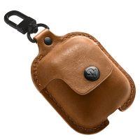 Twelve South AirPods耳机保护套皮革材质 AirSnap系列(棕色)