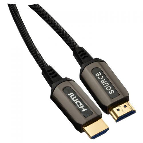 尚睿(SANREYA)光纤HDMI2.0编织线 3M 【特价商品,非质量问题不退不换,售完即止】【清仓折扣】