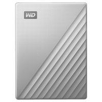 西部数据(WD)My Passport Ultra 2.5英寸4TB便携式移动硬盘(银色)WDBFTM0040BSL