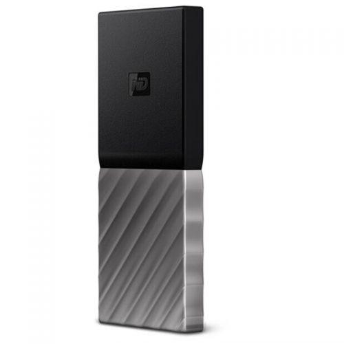 西部数据(WD)My Passport SSD 1TB 2.5英寸移动固态硬盘(黑色)WDBKVX0010PSL