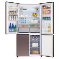 松下(Panasonic)628升 十字对开门冰箱 NR-W61CGZ-TH(琥珀棕)