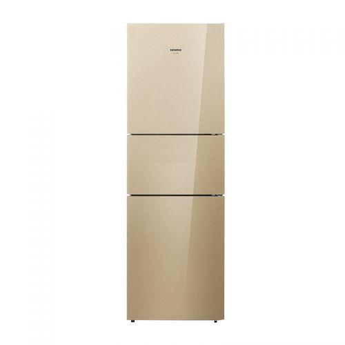 西门子(SIEMENS)295升 一级能效 定频 全风冷无霜 三门冰箱 KG35NVA30C(浅金色)