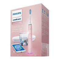 【今日下单赠猫王小音响】飞利浦(Philips)声波震动牙刷HX9924/22(粉色)