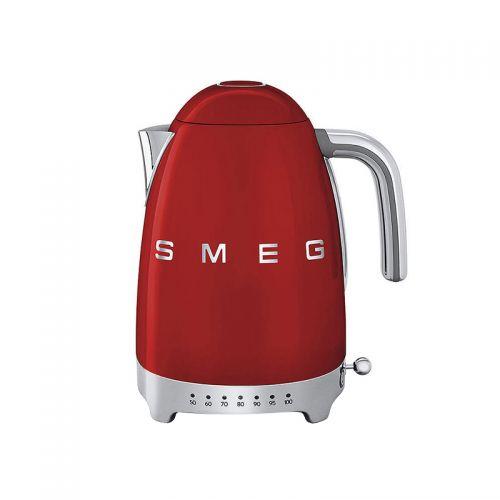 诗迈格(SMEG) 多功能可控制温度电水壶1.7升KLF04RDCN(红色)