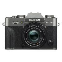 富士(FUJIFILM)微单数码相机 X-T30(XF35F2) 雅墨灰