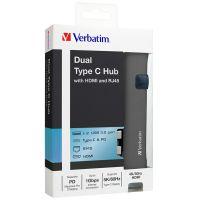 威宝(Verbatim)type-c转换器 65801(灰色)