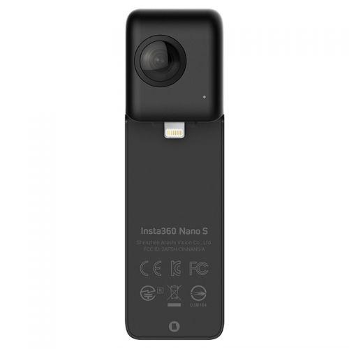 Insta360 Nano S 全景相机 智能运动相机(黑色)