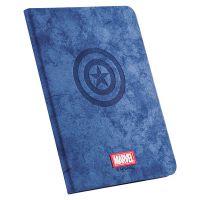 优加 iPad Pro 11英寸 漫威美国队长智能休眠保护套(蓝色)【特价商品,非质量问题不退不换,售完即止】【清仓折扣】