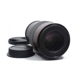产地日本 进口佳能(Canon) 微距镜头EF 100mm f/2.8L IS USM