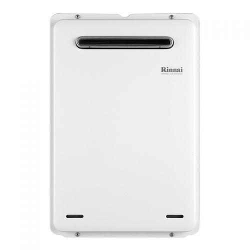 产地日本 进口林内(Rinnai)16升 天然气热水器 REU-A1620W(K)-CH 强排式 室外恒温防冻(白色)