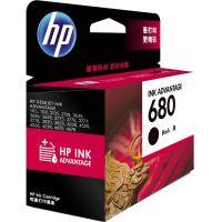 产地马来西亚 进口惠普(HP ) 680黑色墨盒 F6V27AA