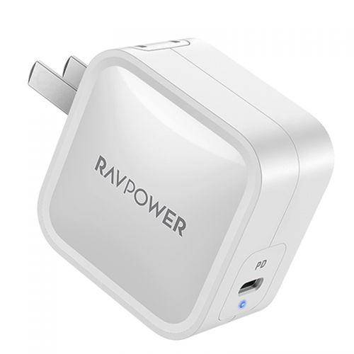 睿能宝(RAVPower) 61W氮化镓小体积多兼容PD充电器 RP-PC112(白色)