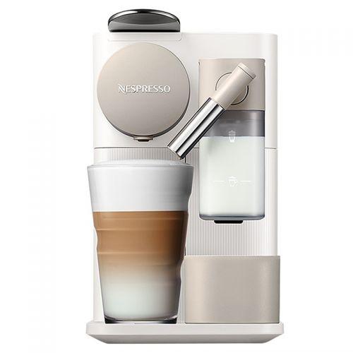 产地 意大利 进口奈斯派索(Nespresso)胶囊意式全自动咖啡机 Lattissima OneF111(白色)【附带14颗胶囊】