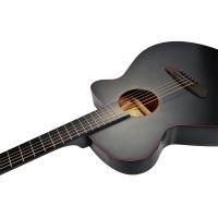 Poputar 智能吉他 P1红线版 P1s 40英寸民谣木吉他