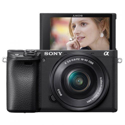 索尼(SONY)ILCE-6400L APS-C微单数码相机套装(16-50mm)黑色