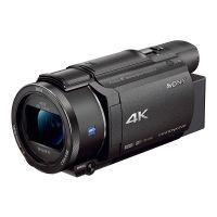索尼(SONY)FDR-AX60 4K数码摄像机 家用摄像机 5轴防抖约20倍光学变焦【内置电子取景器】