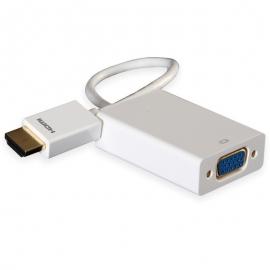 普罗林克(prolink) MP299A HDMI转VGA 高清口转VGA转换器 带音频 支持1080P HDCP