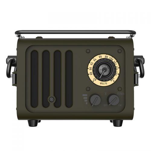 猫王(MAOKING)积木式野性蓝牙小音箱便携蓝牙音响 MW-J(JEEP绿)