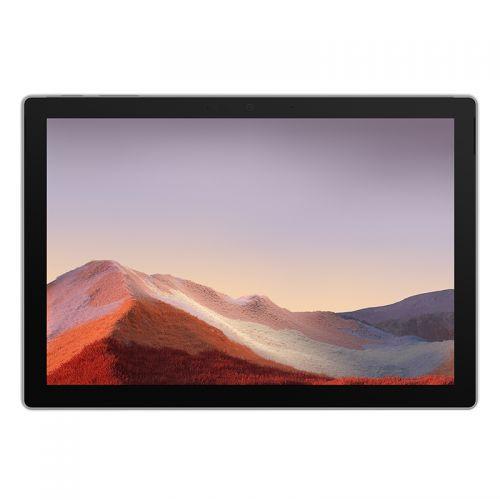微软(Microsoft)Surface Pro 7 12.3英寸二合一平板电脑(i3-1005G1 4G 128GB)亮铂金 VDH-00007