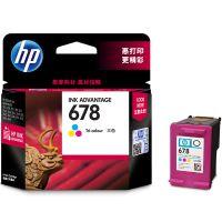 产地马来西亚 进口惠普(HP)   彩色墨盒678 (CZ108AA) 【特价商品,非质量问题不退不换,售完即止】【清仓折扣】