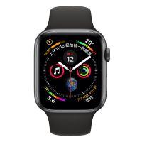Apple WatchS4 44mm GPS版 MU6D2CH/A(深空灰+黑色)