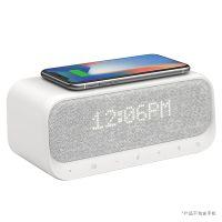安克(ANKER) Soundcore醒醒 多功能三合一无线充床头蓝牙音箱A3300(白色)