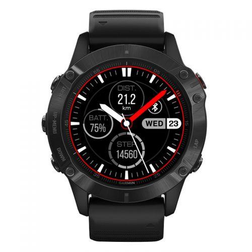 佳明(GARMIN)Fenix6 Pro 户外GPS运动腕表防水智能手表(黑色)