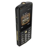 AGM M5 攀登版 移动联通电信4G3G2G 微信触屏按键 双卡双待  全网通4G 老人智能手机(黑金)