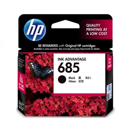 产地马来西亚 进口惠普(HP)CZ121AA 685黑色墨盒 (适用 HP DeskJet 3525/4615/4625/5525)