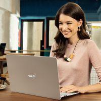 华硕(ASUS)灵耀S 2代 14英寸笔记本电脑(i5-8265U 8G 512G MX150 2G IPS)冰钻金 S4300FN8265-0D8FXYQ2X20