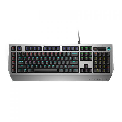 外星人(Alienware) Alienware Pro 有线茶轴机械游戏键盘 AW768 (银黑)
