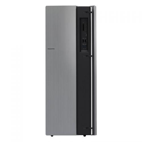 联想(Lenovo)天逸510Pro 23英寸分体式台式机电脑(i5-9400F 8GB 1TB+256G SSD)银灰色