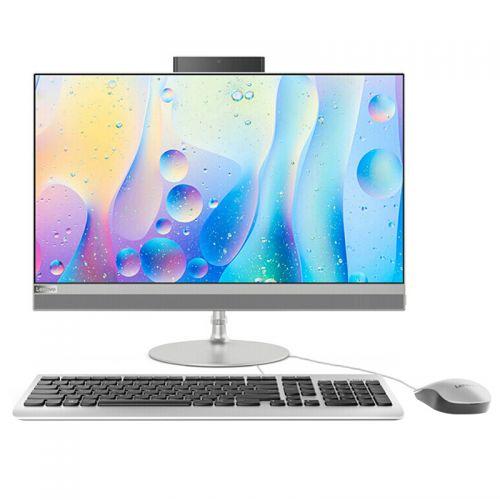 联想(Lenovo)AIO 520 23.8英寸致美一体机(I3-7020U 4GB 1TB R530) 银色