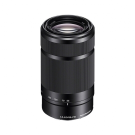 产地泰国 进口索尼(SONY) E 55-210mm f/4.5-6.3 OSS 远摄大变焦镜头(SEL55210) 黑色
