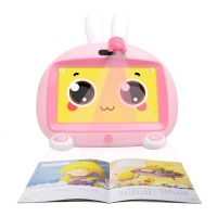 火火兔AR早教学习机儿童英语卡拉ok视频机儿童玩具I6S+(粉色)