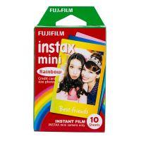 产地日本 进口富士Fujifilm  拍立得相纸Mini胶片(彩虹)